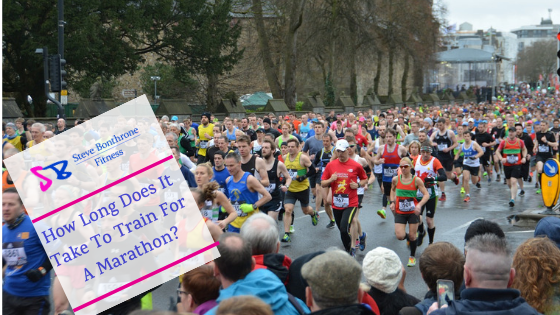 How Long Does It Take To Train For A Marathon | Steve Bonthrone Fitness | Personal Trainer Perth