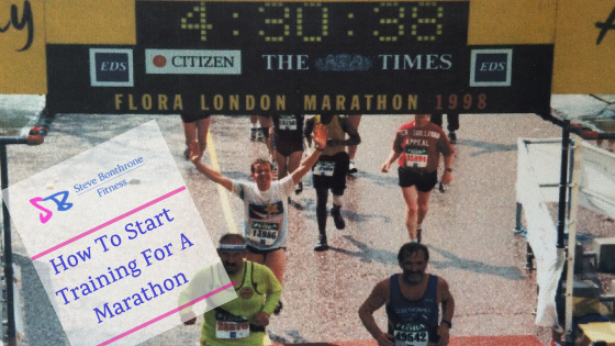 How To Start Training For A Marathon | Steve Bonthrone Fitness | Personal Trainer Perth
