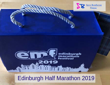 Edinburgh Half Marathon 2019 | Steve Bonthrone Fitness | Running Coach Perth