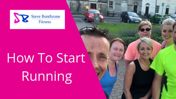 How To Start Running - Running For Beginners - Steve Bonthrone Fitness