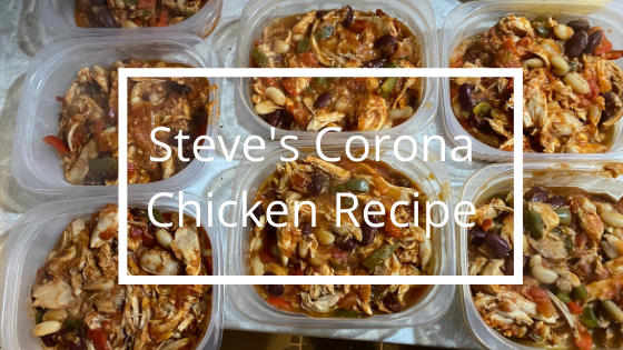 Steve' Corona Chicken Recipe | Personal Trainer in Perth | Steve Bonthrone