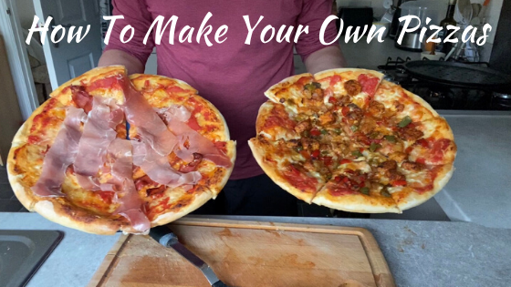How To Make Your Own Pizzas | Steve Bonthrone | Personal Trainer Perth
