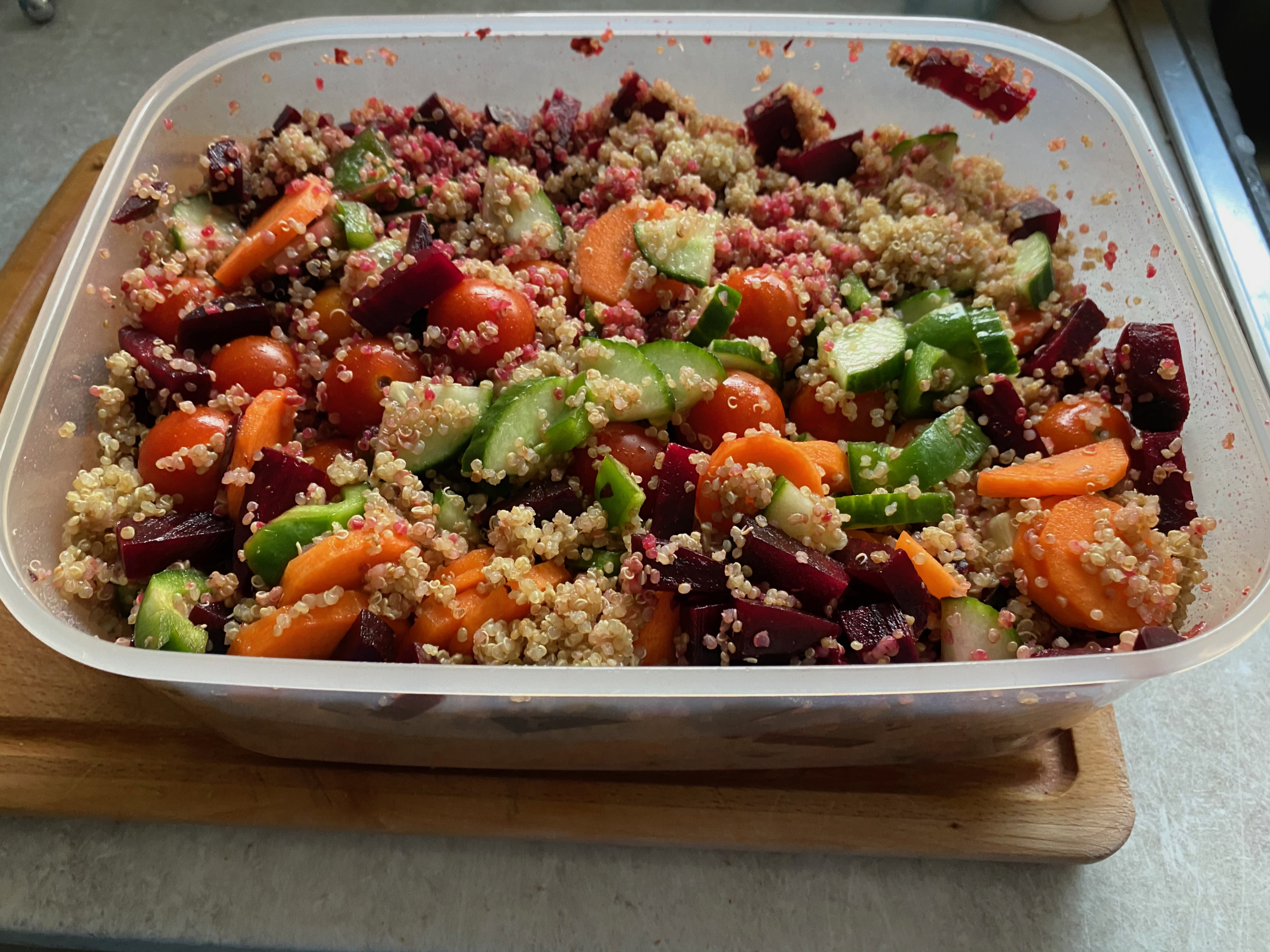 Quinoa Lunchbox | Steve Bonthrone Fitness