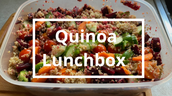 Quinoa Lunchbox | Steve Bonthrone Fitness | Personal Trainer in Perth
