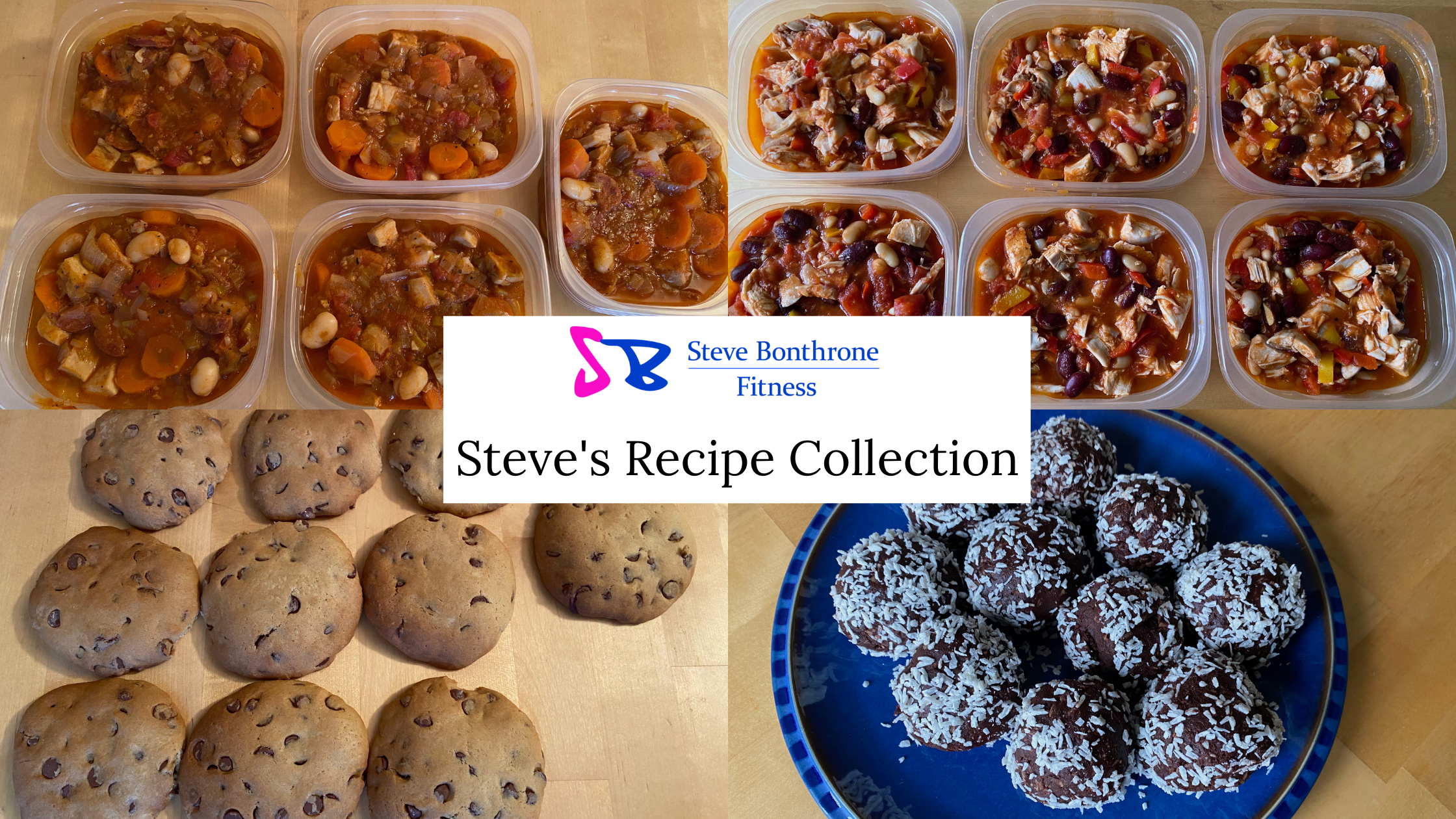 Steve's Recipe Collection | Steve Bonthrone Fitness